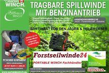 Forstseilwinde PCW 3000 / Benzin Seilwinde / Spillwinde +++Aktionsangebot+++