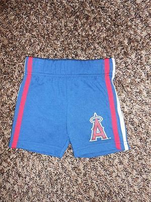 Fanartikel Neu Anaheim Angels Mädchen Kleinkinder 3/6 Months Blau Shorts 49ap