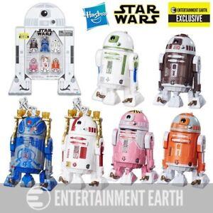Star Wars La Série Noire Astromech Droids Pack 6 Figurines Ee Exclusive 494224