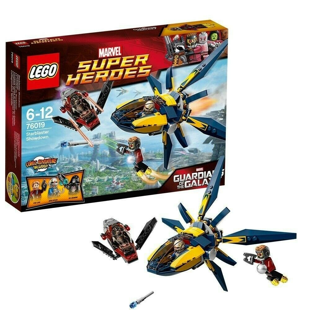 LEGO MARVEL SUPERHEROES 76019 Guardians Of The Galaxy STAR-LORD SHOWDOWN AGES 6+