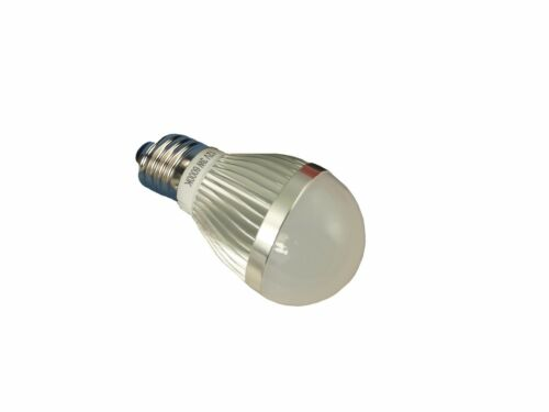 LED Bulb /& Lead with switch for Solar Sheds etc 3 Watt 12 Volt Camping