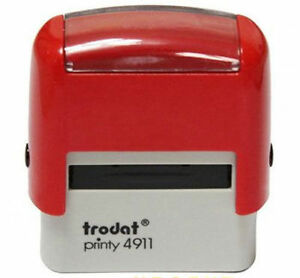 custom make business name address self inking ink rubber stamp