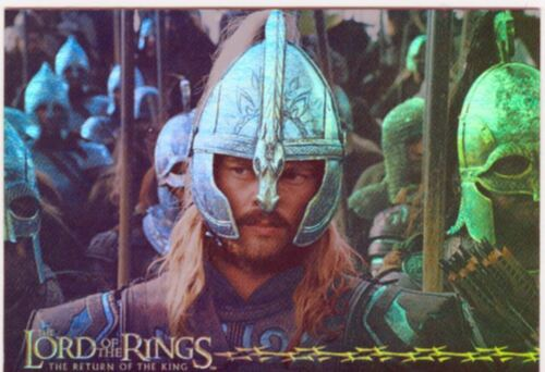 Lord Of The Rings RotK Prismatic Foil Chase Card 10 Of 10