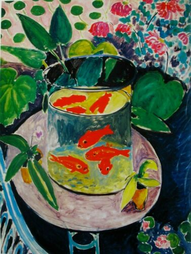 Goldfish By Henri Matisse Paint By Number Kit DIY Painting Artwork Decoration