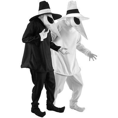 Spy vs Spy Costume Adult Funny Halloween Fancy Dress