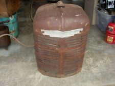 New Listingvintage Farmall H Ih Tractor Nice Original Front Nose Cone Grill With Emblem