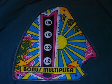 Pinball Star God Original playfield plastic Zaccaria 1980 a flipper