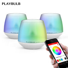 3 pack PLAYBULB Color Smart LED Flameless scented Battery Operated Candles Light
