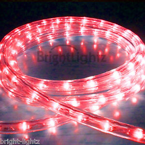 Red led rope light outdoor lights chasing static christmas xmas image is loading red led rope light outdoor lights chasing static aloadofball Images