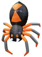 5 Foot Airblown Inflatable Spider - Halloween Yard Decor