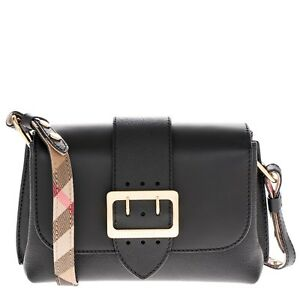 Image Is Loading Burberry Women 039 S Soft Grain Small Cross