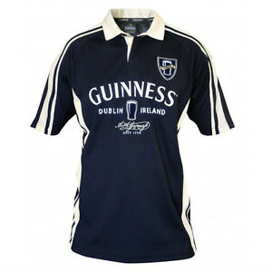 bdee26a99c747 Image is loading Guinness-Dublin-Performance-Rugby -Mens-Irish-Ireland-Embroidered-