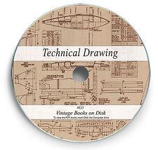 Rare Drawing Books on DVD - Engineering Drafting Design Mechanical Machine G3