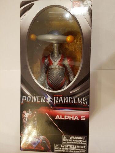 POWER RANGERS grande figurine Alpha 5 navires Entièrement neuf dans sa boîte rapide