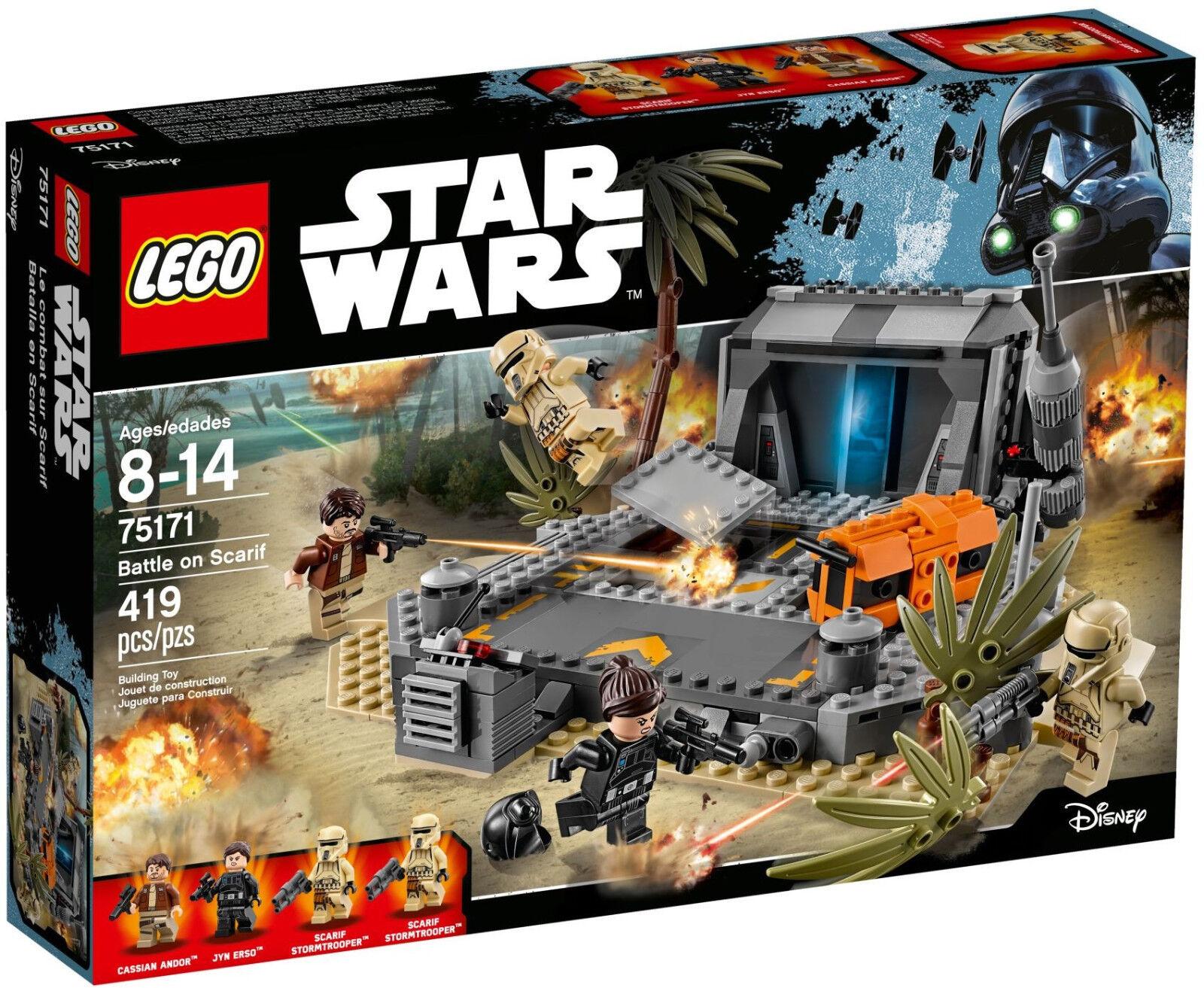 LEGO Star Wars - 75171 Battle on Scarif mit Jyn Erso und Cassian - Neu