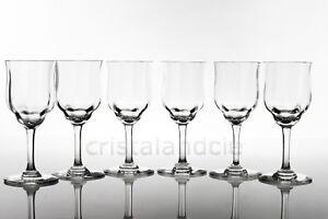 Six verres à vin n°4 Capri en Baccarat. Six wine glasses n°4 Capri by Baccarat - France - Six verres à vin n°4 Capri en Baccarat. Six wine glasses n°4 Capri by Baccarat - France