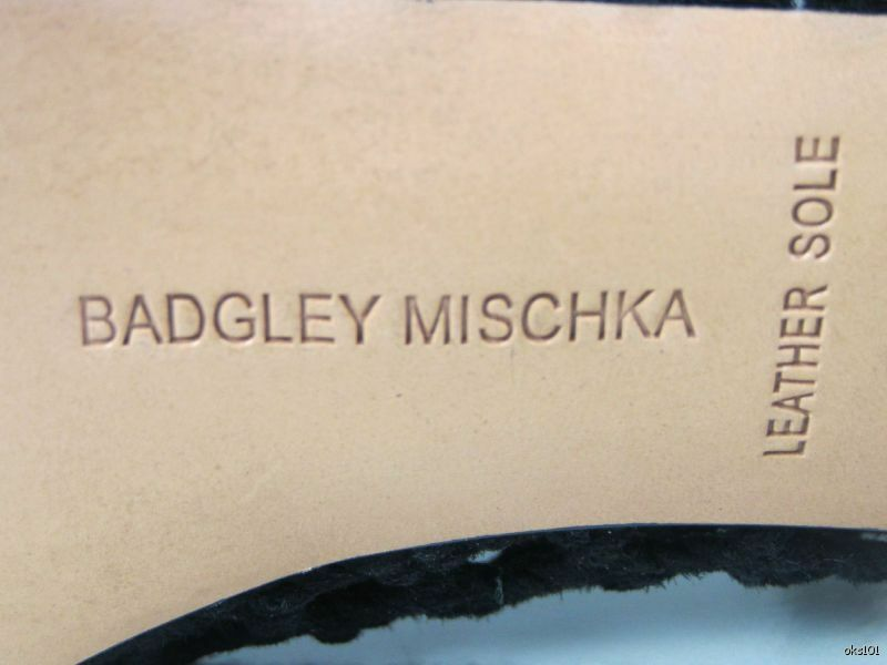 Neuf Mark & James By Badgley Mischka en en en daim noir talons chaussures-Sexy Cage Design 70fcc0