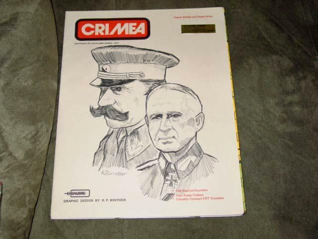 Excalibre Games 1977 - CRIMEA - Panzer Battles and Sieges Series (UNPUNCHED)
