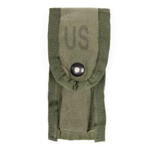 US-Military-Army-9MM-Magazine-Ammo-Pouch-W-Alice-Clips-OD-Green-NEW