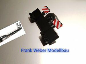 6719 Bordwand schwarz mit Ersatzrad Tieflader  Siku control 1//32