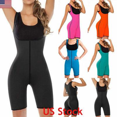 womens fit neoprene sauna suit full body shaper sweat