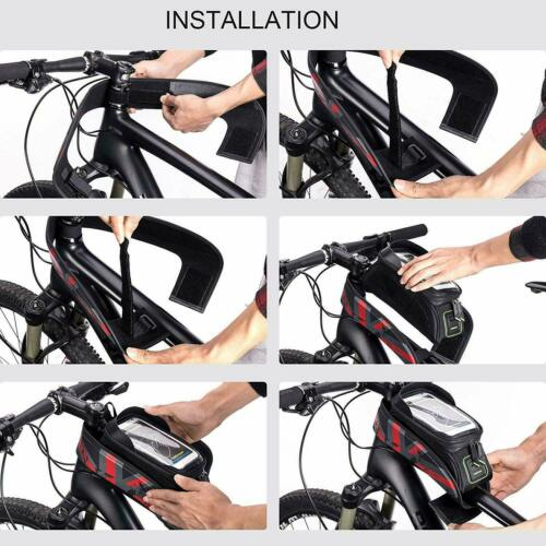 ROCKBROS Rahmentasche Fahrradtasche Oberrohrtasche Wasserdicht 5.8/'/' und 6.0/'/'