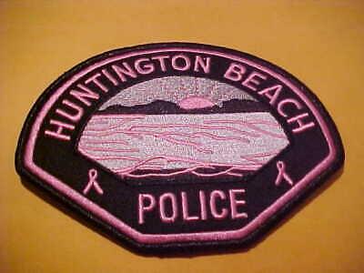 CALIFORNIA HIGHWAY PATROL  PINK  BREAST CANCER SHOULDER FANTASY PATCH