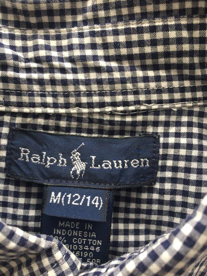 Skjorte, Kort ærmet skjorte, Ralph Lauren