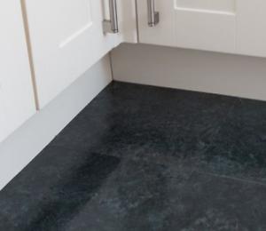 DARK SLATE EFFECT Floor tiles self adhesive effect tile vinyl flooring