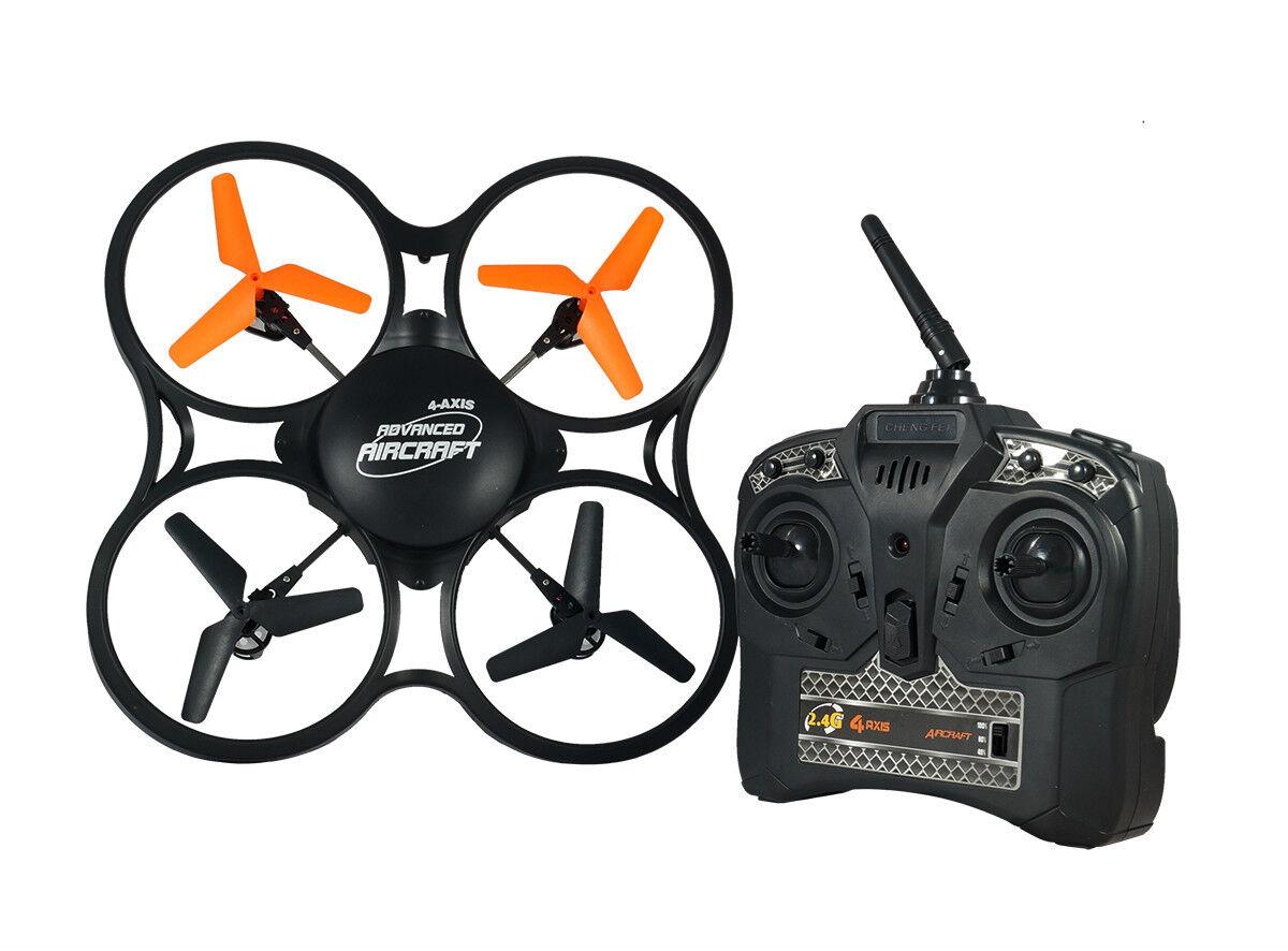 QUADRICOTTERO DRONE RADIOCOMANDATO SUPER VOYAGER 4 CH 6 ASSI 2.4 Ghz VIDEOCAMERA