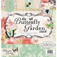 Dcwv the Butterfly Garden Stack 12 X 12 Scrapbook Paper Pad