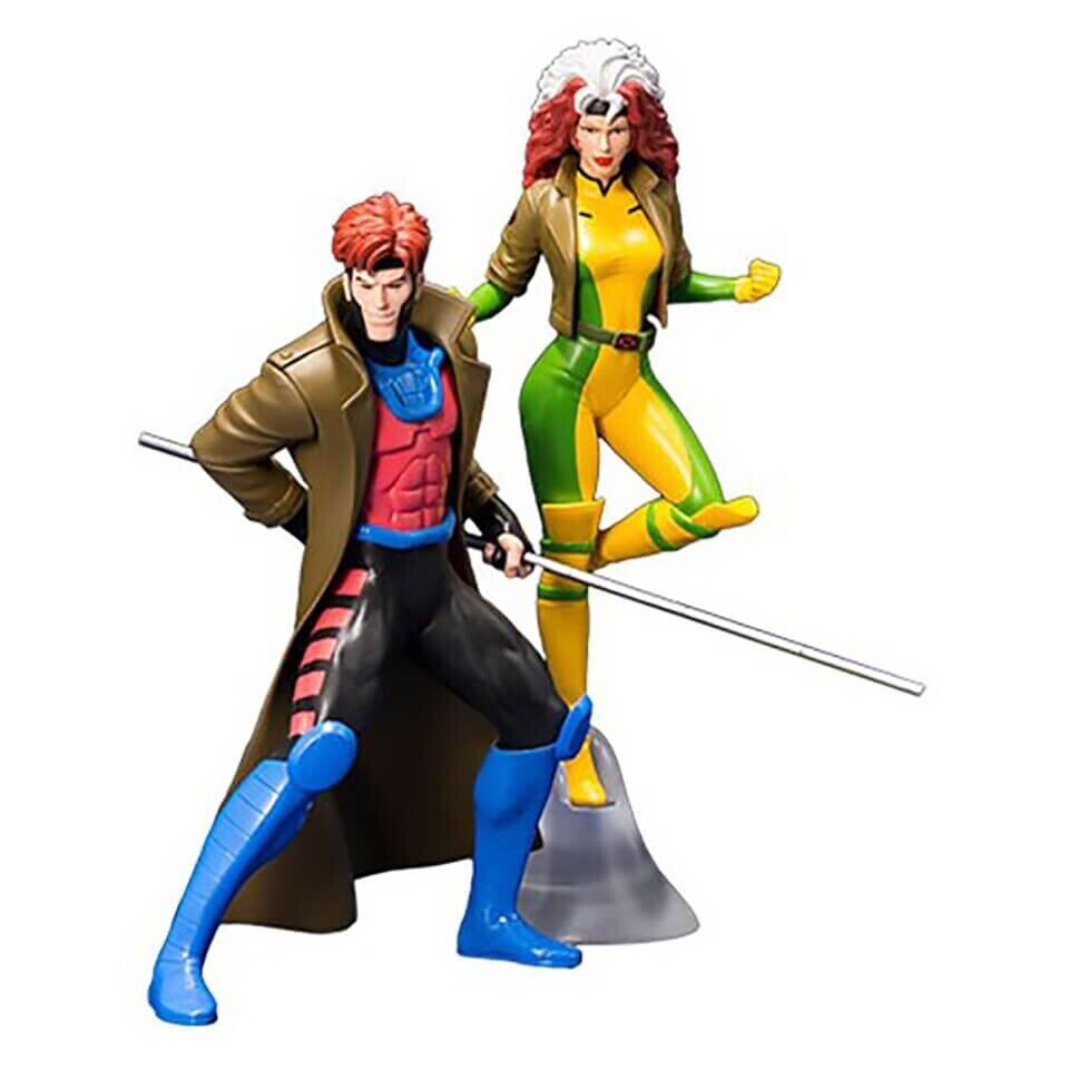 Marvel universo X-men 1992 Gambit & Rogue estatuas entrega rápido y gratis