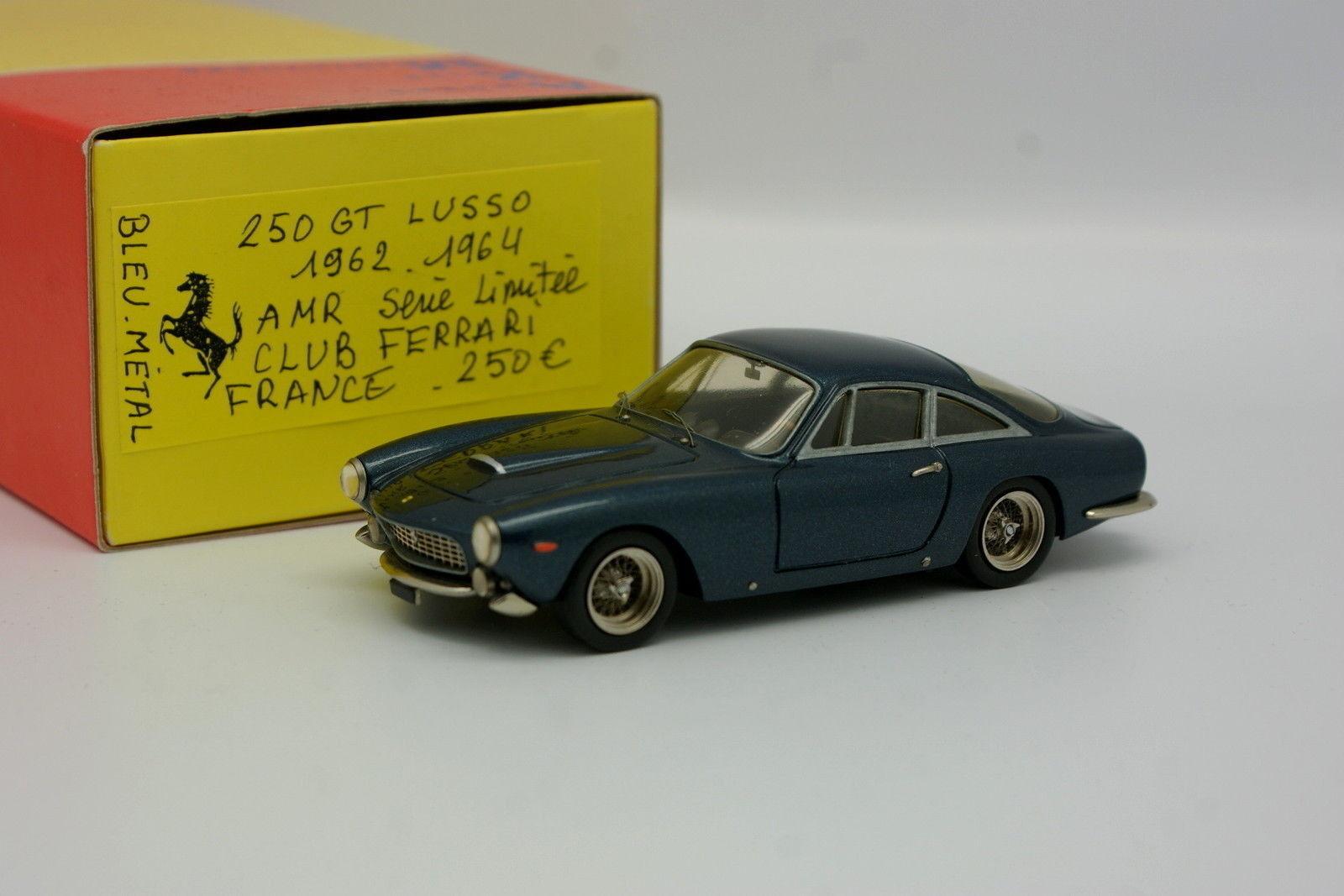 AMR Kit Monté 1 43 - Ferrari 250 GT Lusso 1962 Bleue - Club Ferrari France