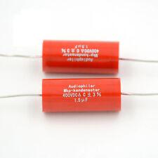 10pcs 1.5uf 400v Audiophiler MKP kondensotor Tubular Audio Coupling Capacitors