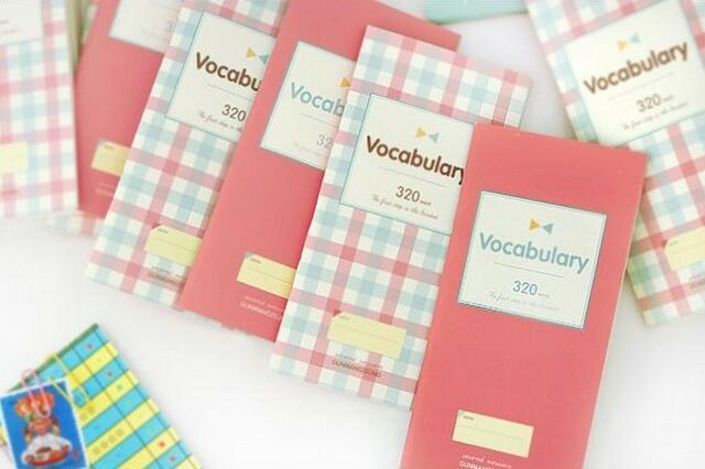 Portable Vocabulary Word Notebook Diary Notepad Planner