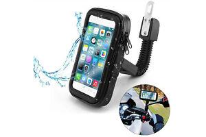 Custodia cellulare per moto impermeabile 6.3 pollici supporto porta smartphone