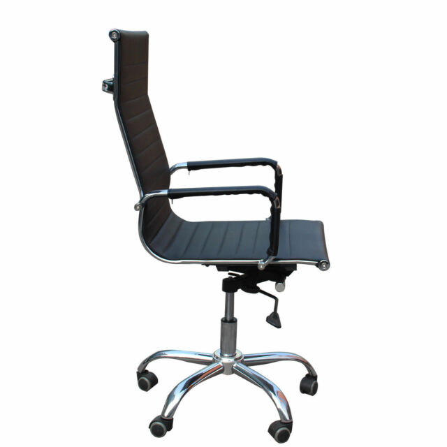 Eames Chair Leather Management Ergonomic Executive Swivel Office