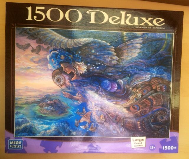 1500 Pc Deluxe Mega Puzzles Jigsaw Puzzle Queen of the Night Mythical Fantasy
