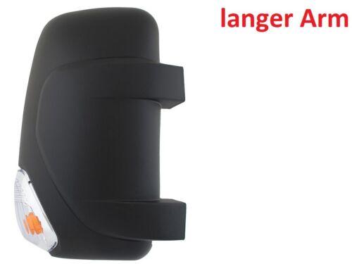 BLINKER RENAULT MASTER MOVANO SPIEGELKAPPE SPIEGEL ABDECKUNG RECHTS LANGEN ARM