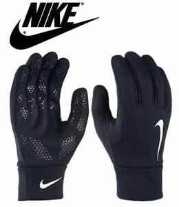 Nike-Mens-Hyperwarm-Gloves-Field-Football-Training-Running-Adults-Black-S-M-L