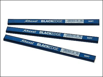 Blackedge De Charpentier Crayons-Bleu//Soft Carte de 12 raconte