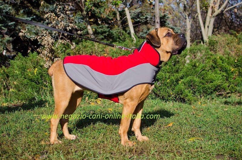 Confortevole cappottino per cane, impermeabile, imbottito, traspirante
