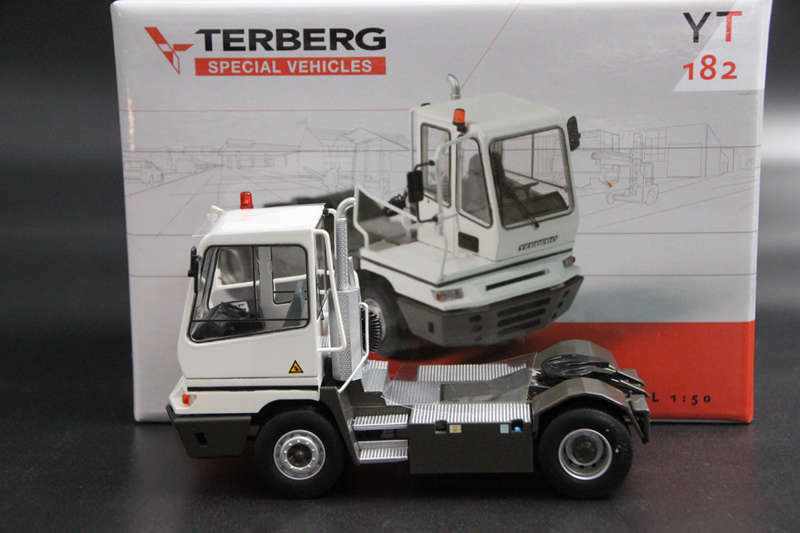 Terberg 1 50 Special YT182 Truck unit Diecast Models Toys Collection Car White