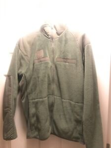 POLARTEC FLEECE JACKET USAF Air Force Army Cold Weather Small