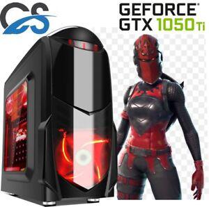 Gaming-Computer-Tower-Desktop-PC-Intel-Core-i3-8GB-RAM-1TB-HDD-4GB-GTX1050Ti-W10