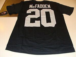 Oakland-Raiders-Darren-McFadden-Name-amp-Number-XL-T-Shirt-Players-Football