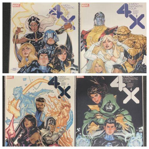 X-men Fantastic Four 4X COMPLETE SET 1 2 3 4