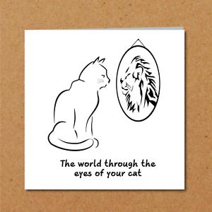 Image Is Loading Funny CAT Birthday Card Kitten Blank Cute Humorous