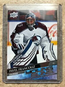 20-21 UD Upper Deck Series 1 Young Guns YG RC Rookie #249 PAVEL FRANCOUZ