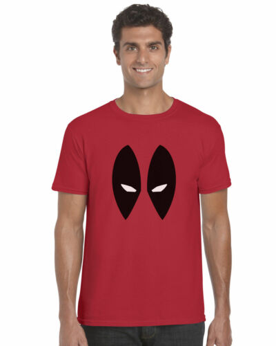Deadpool Eyes AntiHero Mercenary Unisex T-Shirt Marvel Universe Cartoon Film